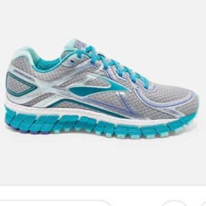 Brooks Grey GTS Adrenaline Athletic Sport Shoes